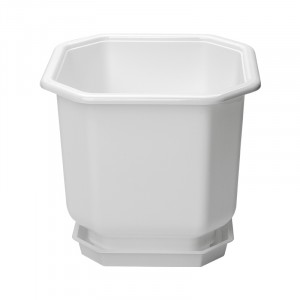 Flower pot square 40 x 40 with pad